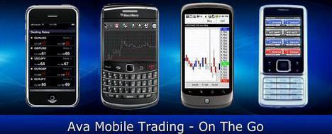 AVAFX Mobile Trading
