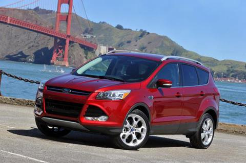 2013 Ford Escape Front