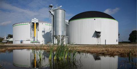 Biosgasanlage