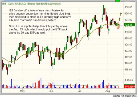 $IBB chart pattern