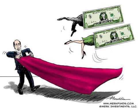 Bernanke with Donkey