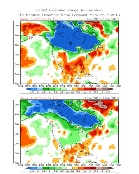 Extended Forecast: February 10-23