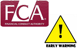 FCA warning, FCA regulation, FCA fine, FSA becomes the FCA, UK regulator