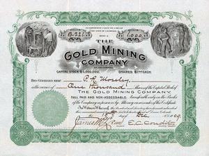 Gold Mining Company Shares