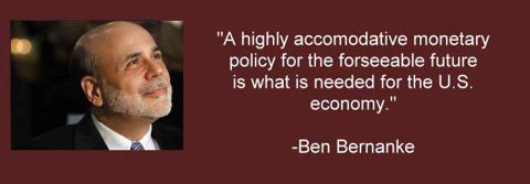 Ben Bernanke quote as Federal Reserve Board of Governors Chairman
