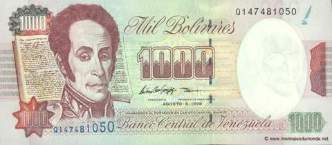 Venezuela Bolivar has been devalued drastically, and likely to get worse in immediate future before any opportunity to stabilize