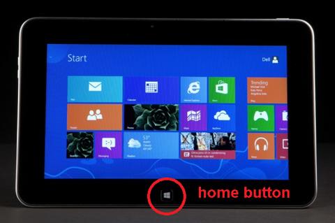 A home button