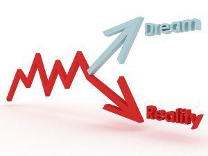 Graphic: Dream vs reality
