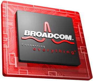 Broadcom Semiconductor Chip