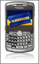 Blockbuster on your BlackBerry