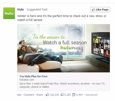 Newsfeed Ad