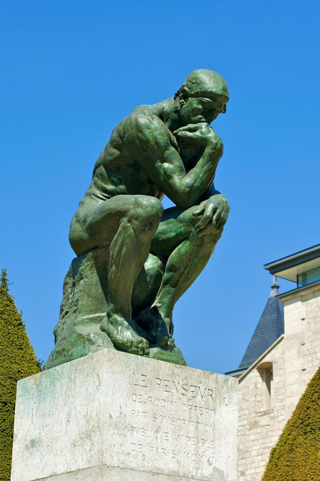 Le Penseur, Source: Wikipedia