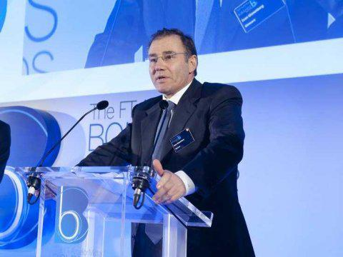 Ivan Glasenberg at FT ArcelorMittal Boldness in Business Awards 2013 (image by FT)