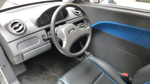The test vehicle has a comfortable interior, although it looks as if it came out of an early-