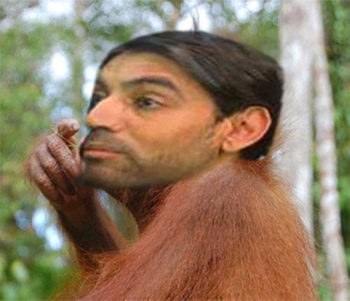 NQ Mobile Omar Khan Monkeying Around