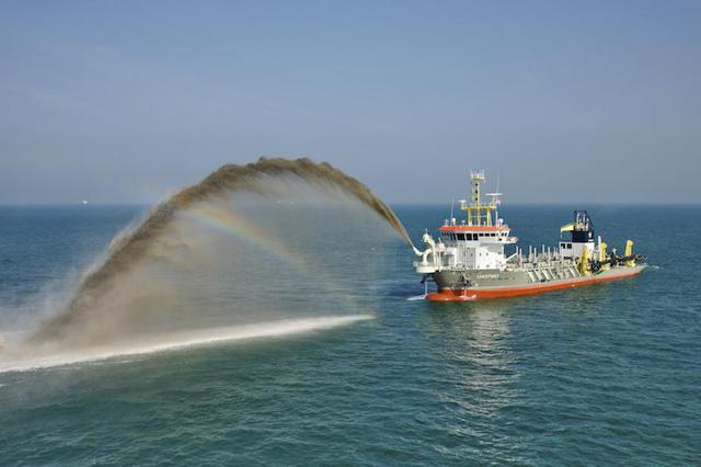 source: Article. Phosphate dredging