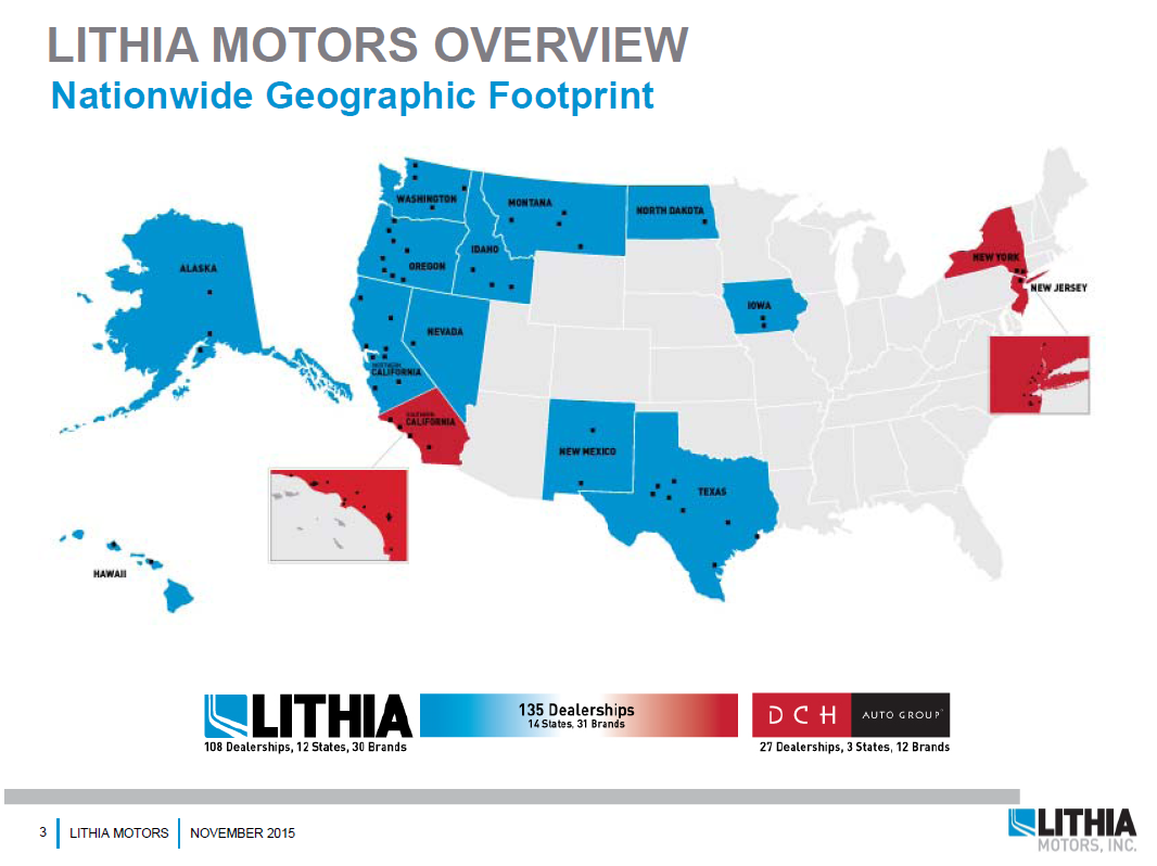 Why Lithia Motors Is An Excellent Long Term Investment