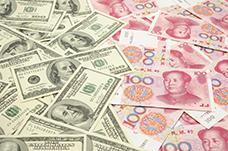 US dollar vs China yuan