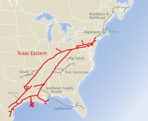 Texas Eastern Corporation