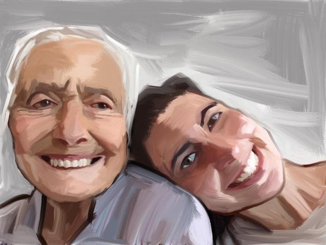 A Joana e Sue Avo