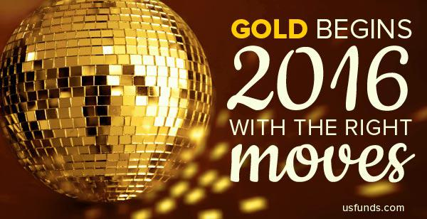 Gold begins 2016 with the right moves