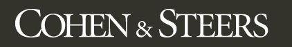 Cohen & Steers logo. Source: Cohen & Steers