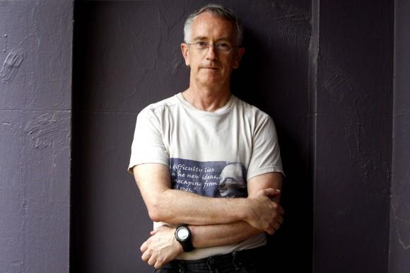 "Associate Professor Steve Keen on campus at the University of Western Sydney. Keen is the author of ""Debunking Economics"" and lecturer at London"
