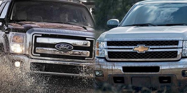 Ford versus general motors ford motor company nyse f for Ford motor company truck division