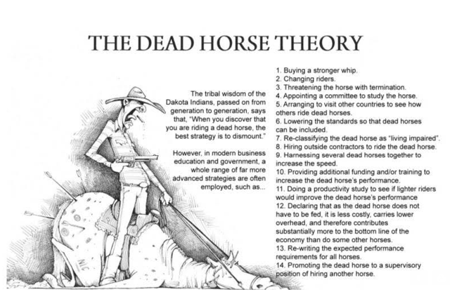 When The Horse Is Dead, The Whip Won't Help: It's Time To Dismount And Acknowledge Growth Is Dead thumbnail