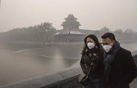 Severe Smog in Chinese Cities