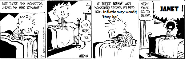 Calvin fears inflation