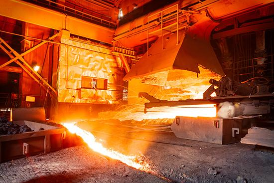 Steel mills Molten iron smelting furnace production line