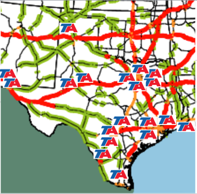 Rest Stops Interstate Map on printable arizona road map, interstate 10 arizona to california, i 80 rest stops map, interstate 40 arizona,