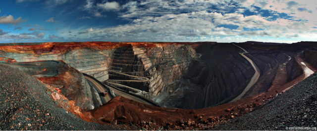 Photo of Kalgoorlie Gold Mine in Australia, via KaneGeorgeJason.com