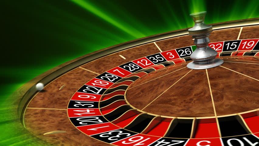 Spinning roulette wheel at a casino seneca allengany casino