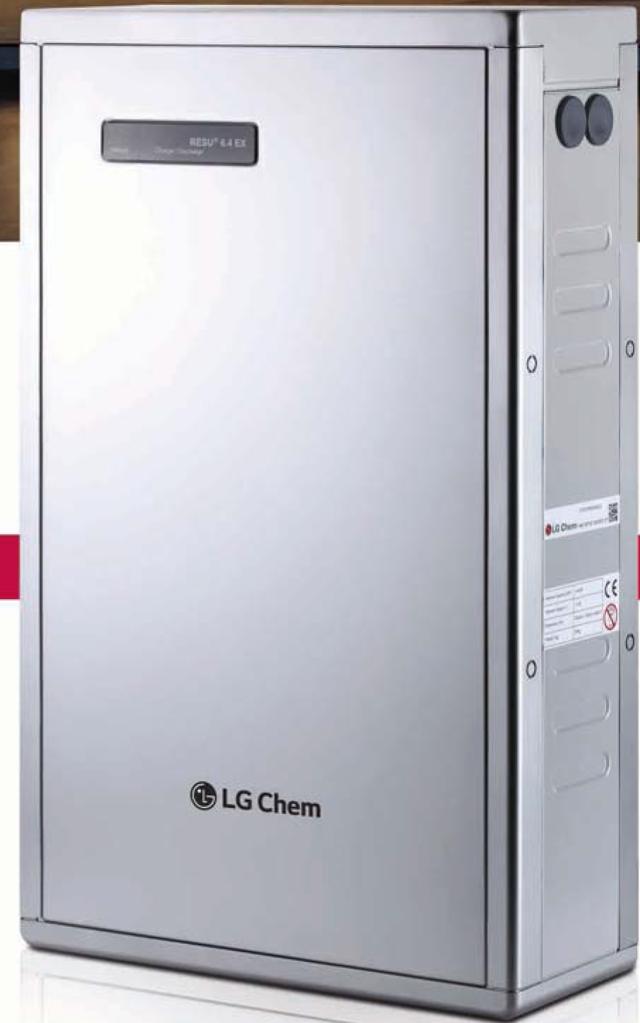 LG Chem RESU 6.4RX battery