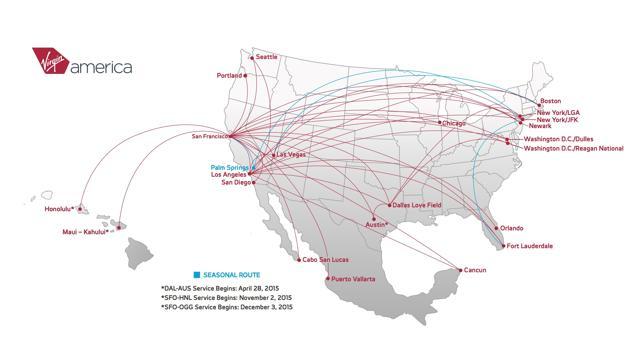 Virgin America Airport Access