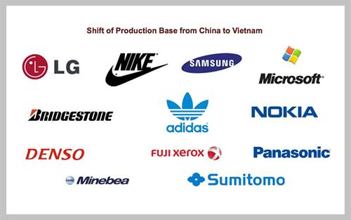Blue-chip companies increasing production in Vietnam