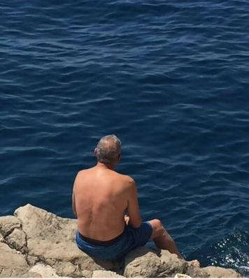 John at the Adriatic