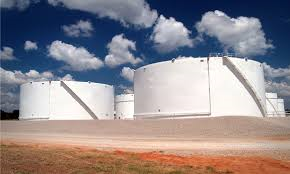 Oil storage tanks could see higher levels this winter.
