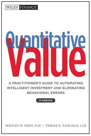 Quantitative Value Book Cover