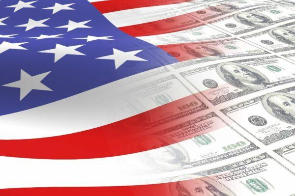 Flag-and-money-