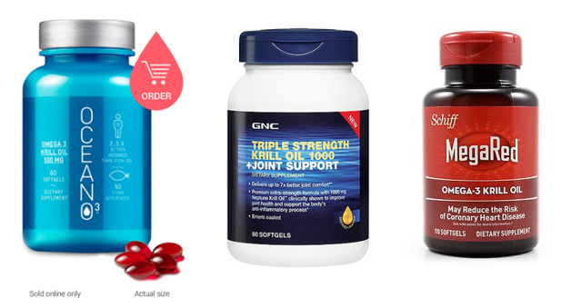 Neptune Krill Oil with multiple products, including MegaRed
