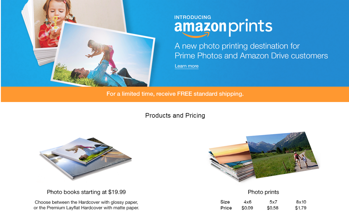 amazon threatens the photo printing services of shutterfly  cvs  walgreens  walmart  and
