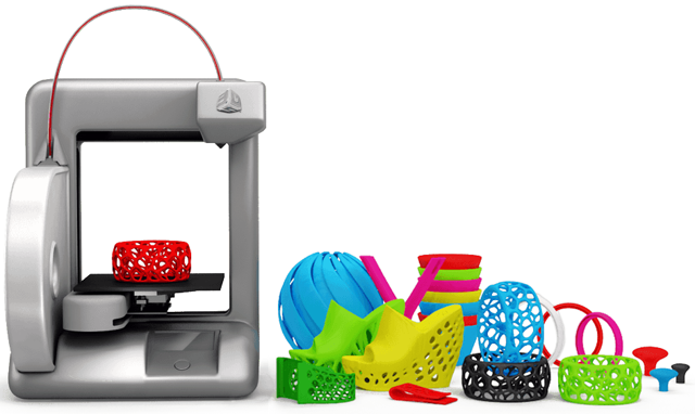 Image of 3D Systems 3D Printers via Bing.