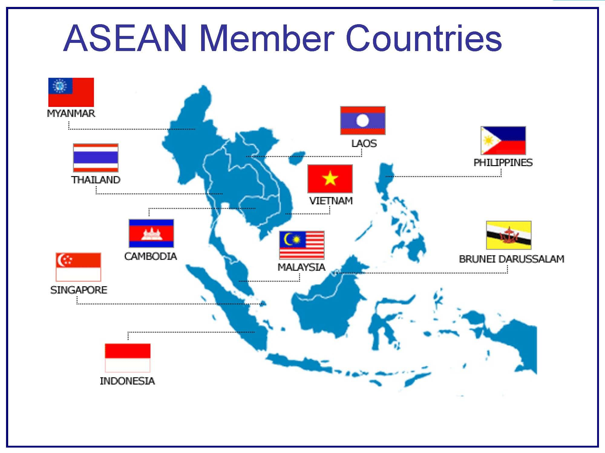 Time To Invest In Association of South East Asian Nations Using – Southeast Asian Country Map
