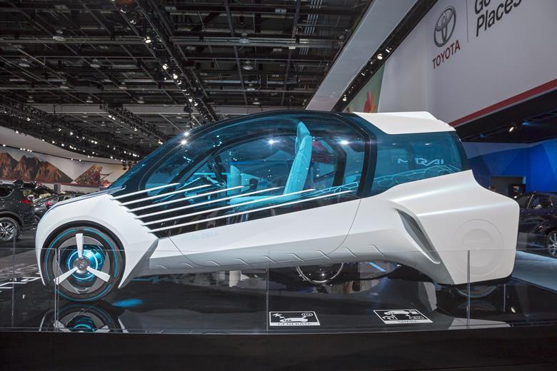 Major Companies Hydrogen Cars