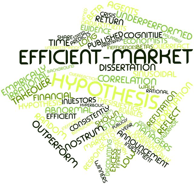 the flaws of the efficient market theory Efficient market theory postulates that the value of a stock  there's a difference between modern portfolio theory and the efficient market  flaw 1) average.