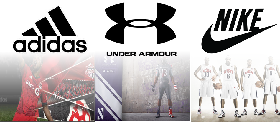 Mar sensibilidad Amplificador  Nike Vs. Adidas Vs. Under Armour | Seeking Alpha
