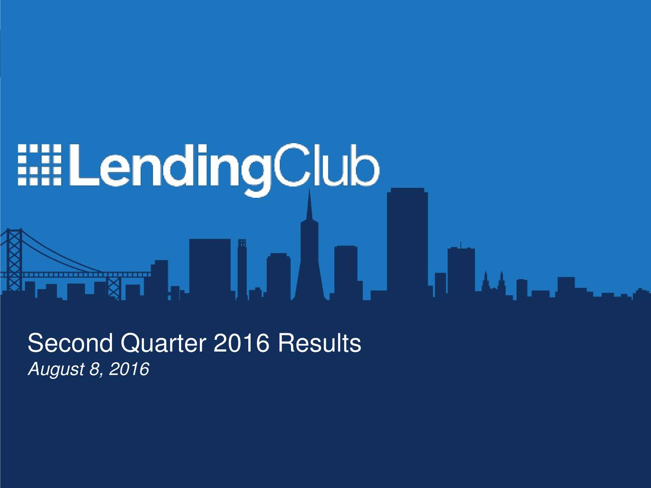 Second Quarter 2016 Results August 8, 2016 Privileged and Confidential 1
